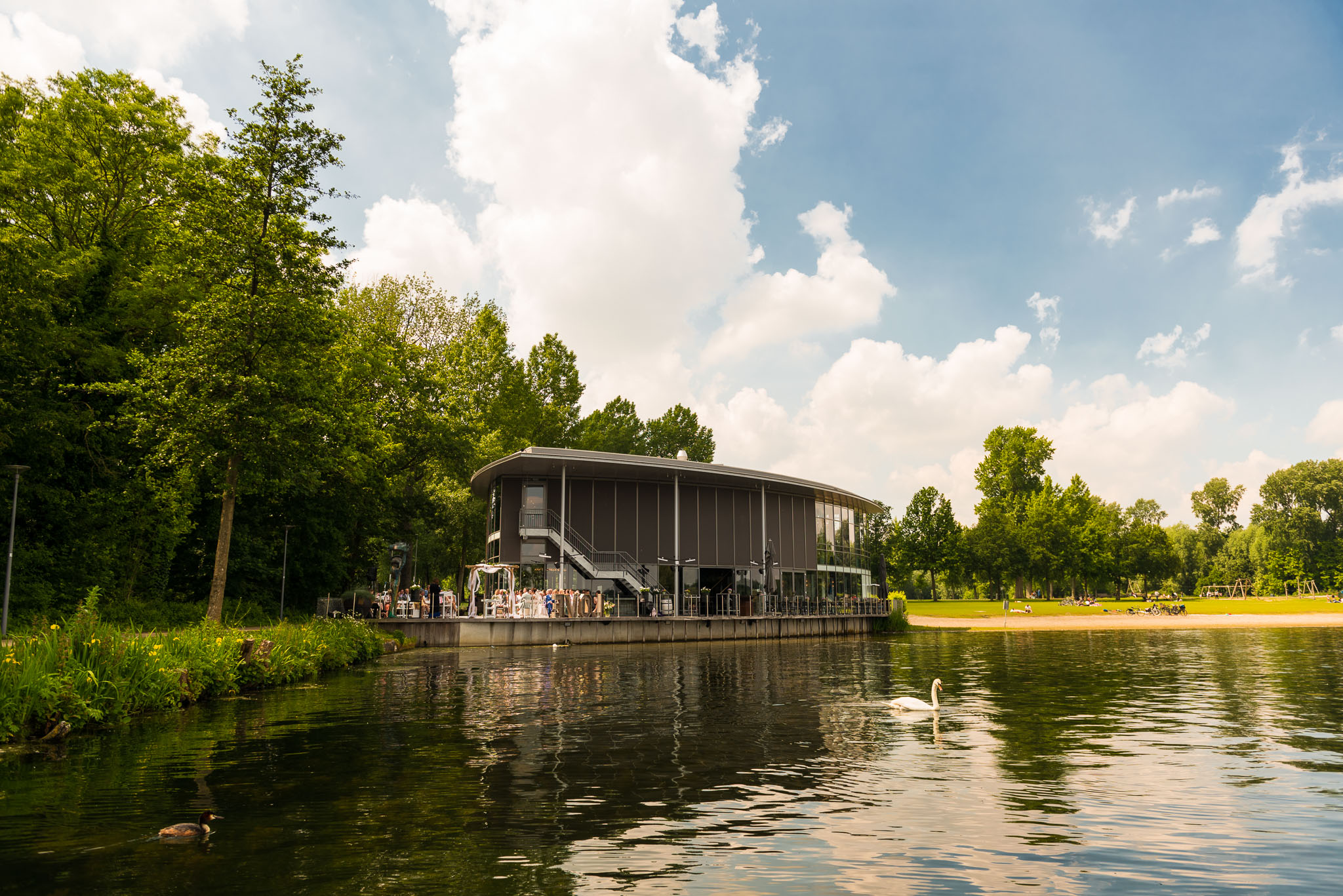 Boathouse Kralingen Trouwceremonie Bruiloft