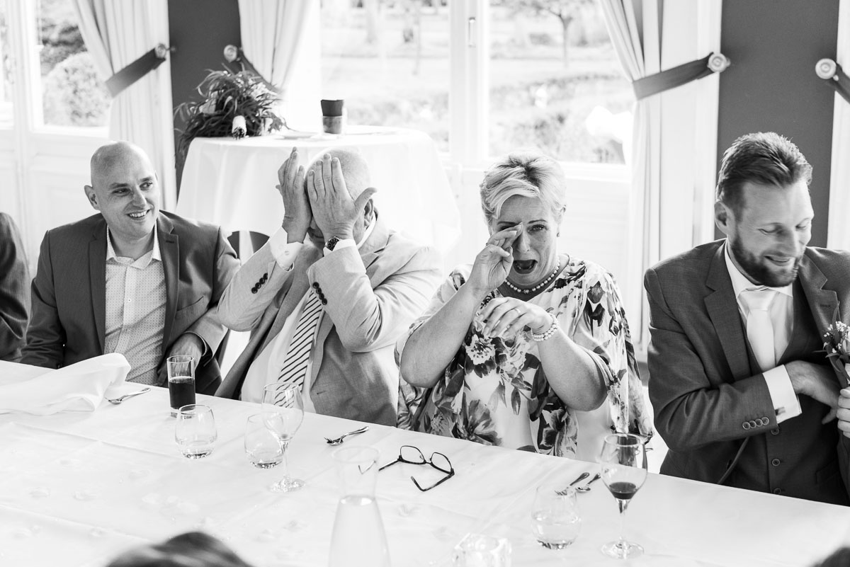 Diner tips fotografie speeches planning van je trouwdag